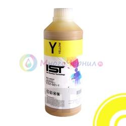 Экосольвентные чернила IST/InkTec Yellow для Mimaki JV33, CJV30, Roland Soljet, Mutoh и др. на головах Epson DX4, DX5, DX6, DX7 (ES2), 1 литр