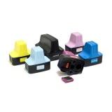 Перезаправляемые нано-картриджи Bursten Nano для HP Photosmart C5183, C6283, D7163, 8253, D7263, C7283, 3213, D7463, 3313, D7363, C6183, C8183, C7183, 3110, 3210, C5180, C5185, C5175, 3310, D6160, D6163 (под HP 177), 6 шт, с чипами