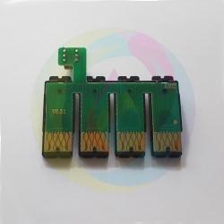 Чип к СНПЧ для Epson Workforce WF-3620DWF, WF-3640DTWF, WF-7110DTW, WF-7610DWF, WF-7620DTWF, T2711-T2714, с кнопкой сброса (планка чипов)