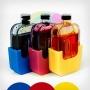 PUSH-контейнеры для заправки картриджей HP 650/122 и принтера BURSTEN KING 1015, цветные (Cyan, Magenta, Yellow), комплект 3 шт.