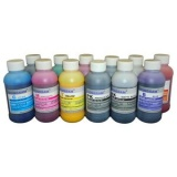 Чернила для Canon imagePROGRAF PRO-1000, PRO-2000, PRO-2100, PRO-4000, PRO-4100, PRO-6000, PRO-6100 (под картриджи PFI-1700, PFI-1000, PFI-1100, PFI-1300), DCTec пигментные, комплект 12 цветов по 200 мл