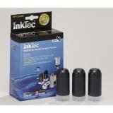 Заправочный набор черный для HP Designjet 100, 110, 70, Business inkjet 2800, 1200, 1000, 2200, 2600, Officejet Pro k850, Color InkJet CP1700 InkTec HPI-2040B Black