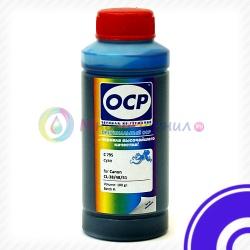 Чернила OCP C 795 Cyan (голубые) для картриджей Canon CL-38, CL-41, CL-51, водорастворимые, 100 мл
