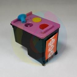Перезаправляемый картридж BURSTEN King HP 122 цветной для HP DeskJet 2050, 1000, 1050, 1050a, 3050, 3050a, 2000, 3000, J110A Tri-colour (для заправки PUSH-контейнерами), заправленный
