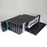 Перезаправляемые картриджи (ПЗК/ДЗК) для Epson Stylus Pro 4000, комплект 8 шт x 220 мл., с чипами и пакетом, непрозрачные