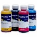 Комплект водных чернил InkTec для Brother MFC-3340C, MFC-420CN, MFC-425CN, MFC-5440CN, MFC-580, MFC-5840CN, MFC-5860CN, MFC-620CN, MFC-640CW, MFC-820CW водорастворимые, комплект 4 x 100 мл
