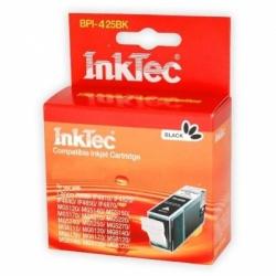 Картридж для Canon PIXMA MG5340, MG5140, iP4940, iP4840, MG5240, iX6540, MG6140, MG6240, MG8240, MG8140, MX884, MX894, MX714 черный Black совместимый, InkTec BPI-425BK (PGI-425PGBK)