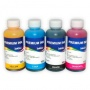 Комплект чернил InkTec для HP Deskjet Ink Advantage 1515, 2515, 1510, 2516, 1015, 2020hc, 2520hc, 4729, 2545, 2645, 3515, 4645, 3545, 3540, Ultra 4729, 2529, 2029 (под HP 650, 122, 46, 662), пигмент + водные, 4 x 100 мл