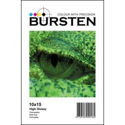 Фотобумага Bursten глянцевая односторонняя, 10Х15, 260г/м2, 50 листов