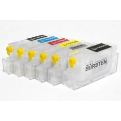 Перезаправляемые нано-картриджи Bursten Nano 2 для Canon PIXMA MP980, MP990