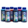 Чернила OCP водорастворимые для Epson Stylus Photo 900, 950, 1270, 1280, 1290, 890, 790, 870, 895, 915 комплект 6 x 100гр