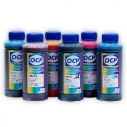 Чернила OCP для Epson R200, R220, R300, R320, R340, R500, R600, RX620, RX640, RX700, (водорастворимые), комплект 6 x 100гр