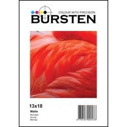 Фотобумага Bursten матовая односторонняя, 13Х18, 180г/м2, 50 листов