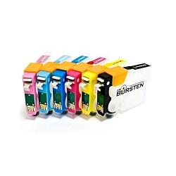 Перезаправляемые нано-картриджи Bursten Nano 2 для Epson Stylus Photo P50, PX650, PX660, PX700, PX710W, PX720WD, PX800FW, PX810FW, PX820FWD