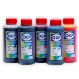 Чернила для Canon imagePROGRAF iPF605, iPF750, iPF710, iPF600, iPF650, iPF655, iPF700, iPF755, iPF500, iPF610, iPF720, iPF510 для картриджей PFI-102,  комплект 5 x 100 г.