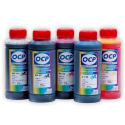 Чернила OCP для заправки Canon Pixma TR150, iP100, iP110, mini260 для картриджей PGI-35/CLI-36, пигментные + водные, комплект 5 x 100 мл