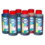 Чернила OCP для Canon PIXMA MG8140, MG6240, MG8240, MG6140, MP980, MP990, MP620, MP630, для картриджей PGI-425PGBK, CLI-426, водные + псевдопигмент SAFE SET, комплект 6 x 100 мл