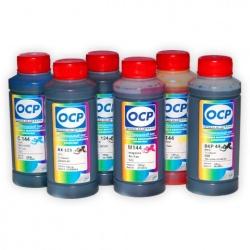 Чернила OCP для Canon PIXMA MG8140, MG6240, MG8240, MG6140, MP980, MP990, MP620, MP630, пигментные + водные, комплект 6 x 100 мл