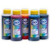 Чернила OCP для HP Vivera 178, HP Photosmart 7510, C5383, D5463, C5380, C310b (CN503c), C6383, D5460, C410c, C6380, B8553,  D7560, C309g, C6375, B8550, C309h, C6324, C310a, C309, пигмент + водные, комплект 5 х 100 мл