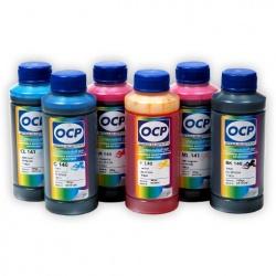 Комплект чернил OCP для Epson Stylus Photo 1500W, P50, T50, PX660, 1410, R270, R290, TX650, RX610, R390, RX590, R295, RX690, 6 x 70гр