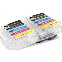 Перезаправляемые нано-картриджи Bursten Nano 3 для Canon PIXMA MG6240, MG6140, MG8240, MG8140