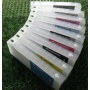 Перезаправляемые картриджи (ПЗК/ДЗК) для Epson Stylus Pro 11880 (T5911-T5919), без чипов, 9 x 700 мл
