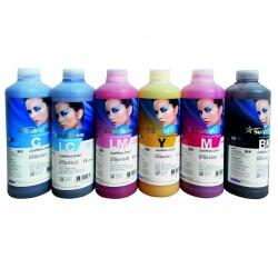 Комплект сублимационных чернил для Epson, InkTec Sublinova Smart (DTI01-DTI06), 6 цветов по 1 литру