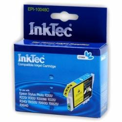 Картридж для Epson Stylus Photo R300, R220, R200, RX500, R320, RX620, R340, RX600, RX640 голубой совместимый InkTec EPI-10048С (T0482) Cyan