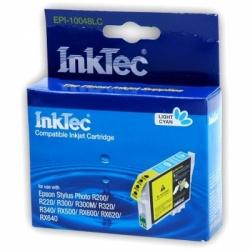 Картридж для Epson Stylus Photo R300, R220, R200, RX500, R320, RX620, R340, RX600, RX640 совместимый светло-голубой InkTec EPI-10048LС (T0485) Light Cyan