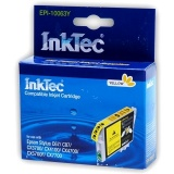 Картридж для Epson Stylus C67, C87, CX3700, CX4100, CX4700, CX7700 совместимый InkTec EPI-10063Y (T0634) Yellow желтый