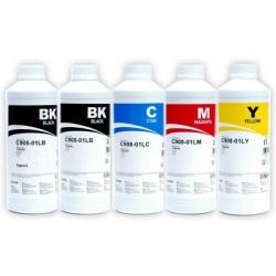 Комплект чернил InkTec для Canon iP4200, iP4500, iP5200, MP610, iP4300, MP600, MP500, MP800, iP5300, MP810, MP830, MP530, MX850 пигментные и водорастворимые, 5 х 1 литр