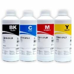 Комплект чернил для Canon Pixma MP250, MP230, iP2700, MP280, MP495, MP270, MP252, MP490, MP240, MP260, MP282, MX320, MX410, MX360, MP272, MP492, MX420, MX340, MX330, MX350, MP480 InkTec C2010-C2011, пигментные и водорастворимые, 4 х 1000 мл