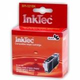 Картридж для Canon iP3600, MP550, MP540, iP4600, iP4700, MP630, MP640, MP560, MX870, MX860, MP620 черный, совместимый InkTec, BPI-521BK (CLI-521BK)