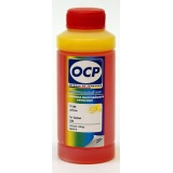 Чернила OCP Y 144 Yellow (желтые) для картриджей CLI-521, CLI-426 к Canon PIXMA MG5340, MG5140, iP3600, MP550, MP540, iP4840, iP4940, MG5240, iP4600, iX6540, iP4700, MG6140, MP630, MP640, MP560, MX884, MG8140, MP990, MP980, MP620, MG5150, водные, 100 мл