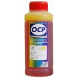 Чернила OCP 122 Y Yellow (желтые) для Canon iP4200, iP4500, iP5200, iP3300, MP520, MP510, MP610, MP500, MP600, MP810, MP800, MP970, MP530, MP830, для картриджей CLI-8, CLI-36, водные, 100 мл