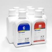 Чернила для Epson Stylus Pro 4880, 9880, 9800, 4800, 7800, 7880, Photo R2400, R2880, Ink-Mate EIM-990 пигментные С ФОТО ЧЁРНЫМ, комплект 8 цветов по 500 мл