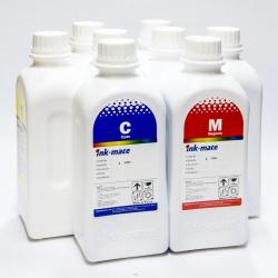 Чернила для Epson Stylus Pro 4880, 9880, 9800, 4800, 7800, 7880, Photo R2400, R2880, Ink-Mate EIM-990 пигментные С ФОТО ЧЁРНЫМ, комплект 8 цветов по 1 литру
