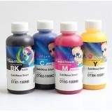 Чернила InkTec SubliNova Rapid для печатающих голов Epson DX5 и DX7 (SEB-B100M-4), сублимационные, комплект 4 цвета по 100 мл