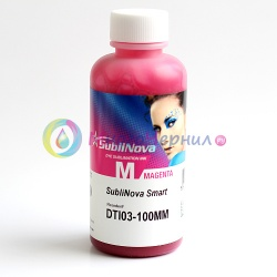 Чернила InkTec SubliNova Rapid для печатающих голов Epson DX5 и DX7 (SEB-B100MM), сублимационные, Magenta пурпурные, 100 мл