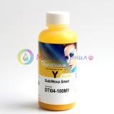 Чернила InkTec SubliNova Rapid для печатающих голов Epson DX5 и DX7 (SEB-B100MY), сублимационные, Yellow жёлтый, 100 мл