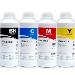 Комплект чернил InkTec для HP Photosmart 325, 335, 375, 385, 422, 425, 428, 475, 2610, 2613, 2710, 2713, C3180, C3183, Pro B8353 DeskJet 5943, 5743, 6943, 6543, 6940, 6983, 9803, 6843, 460c, 6980, 5740, 6620, 6623  4 x1 литру пигментные и водорастворимые