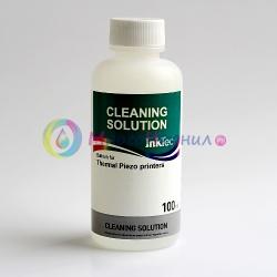 Чистящая (промывочная) жидкость для картриджей струйных принтеров InkTec MCS-100MDP Cleaning Solution, универсальная, для промывки и очистки, 100 мл.