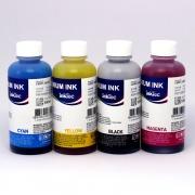 Комплект чернил для Canon Pixma MG2440, MG2540S, MG3040, iP2840, MG2540, TS3140, TS3340, TS3440, TS5340, TS7440, TR4540, MG2940, MG2545S, MX494, TS304, TS204, TR4640 (картриджи PG-445, CL-446, PG-460, CL-461), InkTec пигментные + водные, 4 цвета по 100 мл