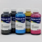 Чернила для Epson Expression Premium XP-640, XP-630, XP-600, XP-830, XP-700, XP-800, XP-610, XP-810, XP-605, XP-820, XP-620, XP-530, XP-710, XP-520, XP-900, XP-510, XP-540, XP-625, XP-645, пигмент + водные InkTec, 5 x 100 мл