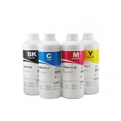 Комплект чернил для HP DeskJet F380, 3940, D1360, D1560, F370, 3920, 5550, 5652, 5850, PSC 1315, 1215, 1350, 1110, 1210, 2110, 1410, Photosmart 7760, 7660, 7260, 7960, 7350, 7150, 145, OfficeJet 6110 (HP 21, 56, 22, 57) InkTec пигмент + водные, 4 x 1 литр