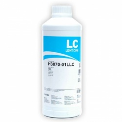 Чернила для HP Designjet 130, 90, 30, Photosmart C5183, C6283, 8253, D7163, C7283, D7263, 3213, C8183, D7363, C6183, D7463, C7183 InkTec, H3070, Light Cyan светло-синие водорастворимые, 1 литр