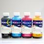 Чернила для Epson L1110, L3100, L3101, L3110, L3111, L3150, L3151, L3156, L3160, L5190, ET-2710, ET-2711, ET-4700 (Фабрика Печати / Ecotank, аналог оригинальных чернил 103 / 104), InkTec водорастворимые E0017, 4 цвета по 100 мл