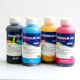 Комплект водных чернил InkTec B1100 для Brother MFC-235C, MFC-240C, MFC-260C, MFC-3360C, MFC-440CN, MFC-465CN, MFC-5460CN, MFC-660CN, MFC-885CW водорастворимые, комплект 4 x 100 мл