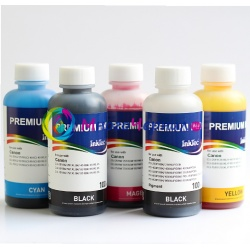 Комплект чернил для Canon Pixma MG6840, MG5740, TS5040, TS6040 (для заправки картриджей PGI-470, CLI-471), InkTec C5050/C5051, 5 х 100 мл
