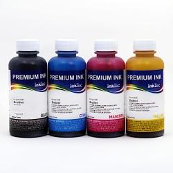Чернила для Brother InkBenefit Plus DCP-T300, DCP-T500W, DCP-T700W, MFC-T800W (совм. BT6000BK, BT-5000C, BT-5000M, BT-5000Y), InkTec пигмент + водные, комплект 4х100 мл